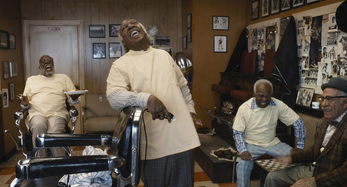 Coming to America barbershop characters