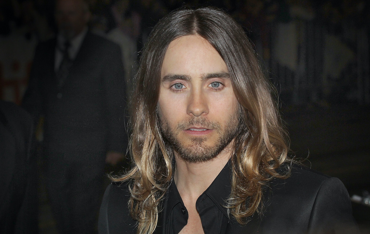 Jared Leto arrives at the 'Dallas Buyers Club' premiere during the 2013 Toronto International Film Festival