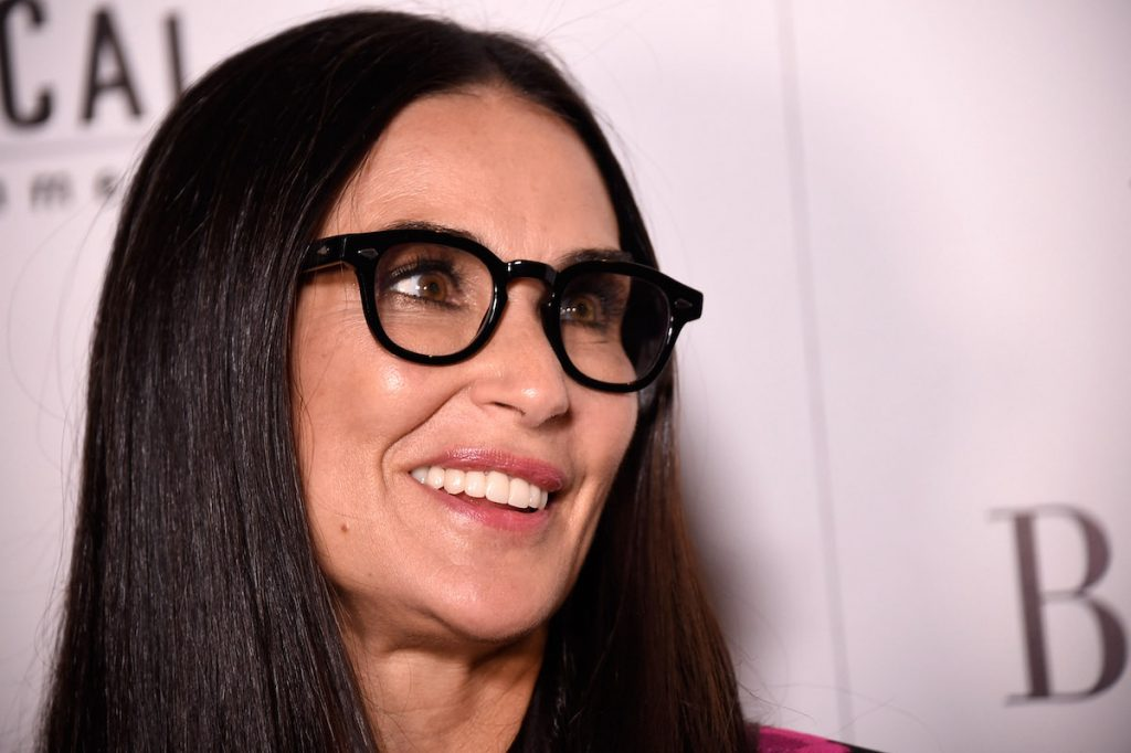 """Demi Moore attends the """"Blind"""" premiere at Landmark Sunshine Cinema on June 26, 2017 in New York City 