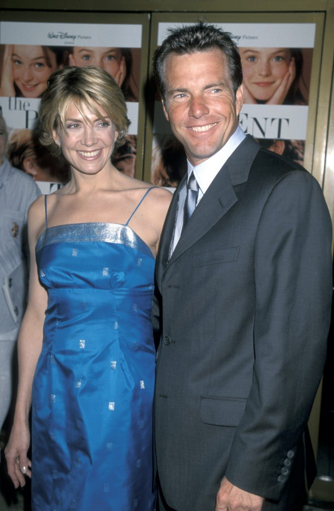 Natasha Richardson and Dennis Quaid