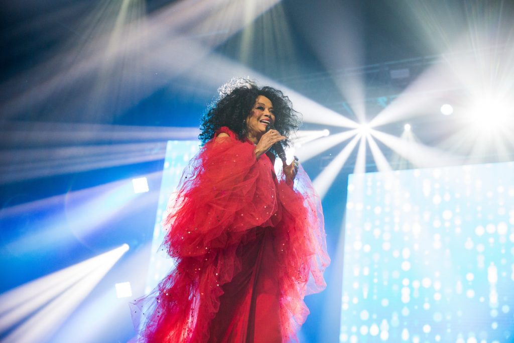 Diana Ross performs at the 'Keep the Promise' 2019 World AIDS Day Concert Presented by AIDS Healthcare Foundation on November 29, 2019 in Dallas, Texas   Rick Kern/Getty Images for AIDS Healthcare Foundation