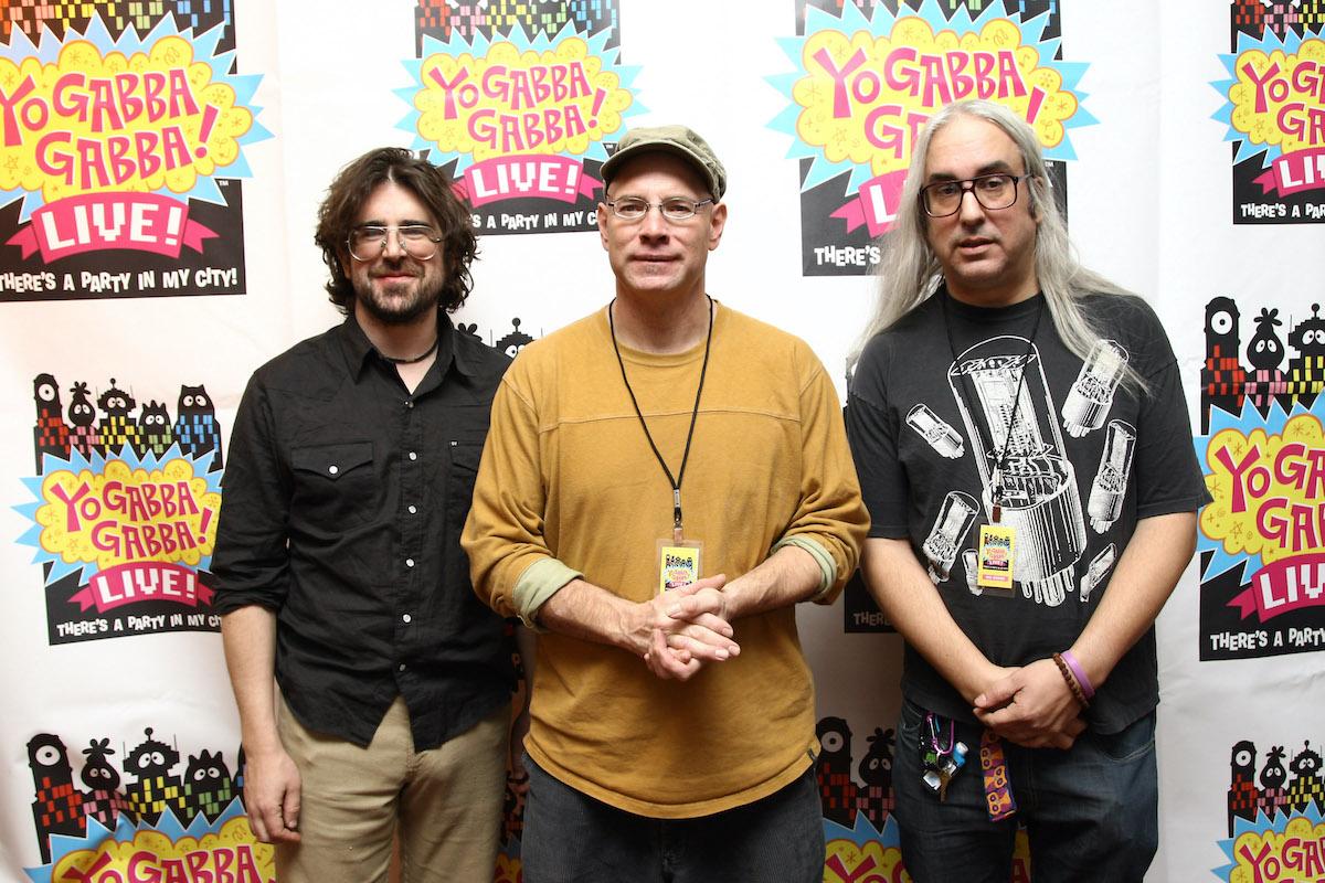 Lou Barlow, Murph, and J Mascis of Dinosaur Jr.