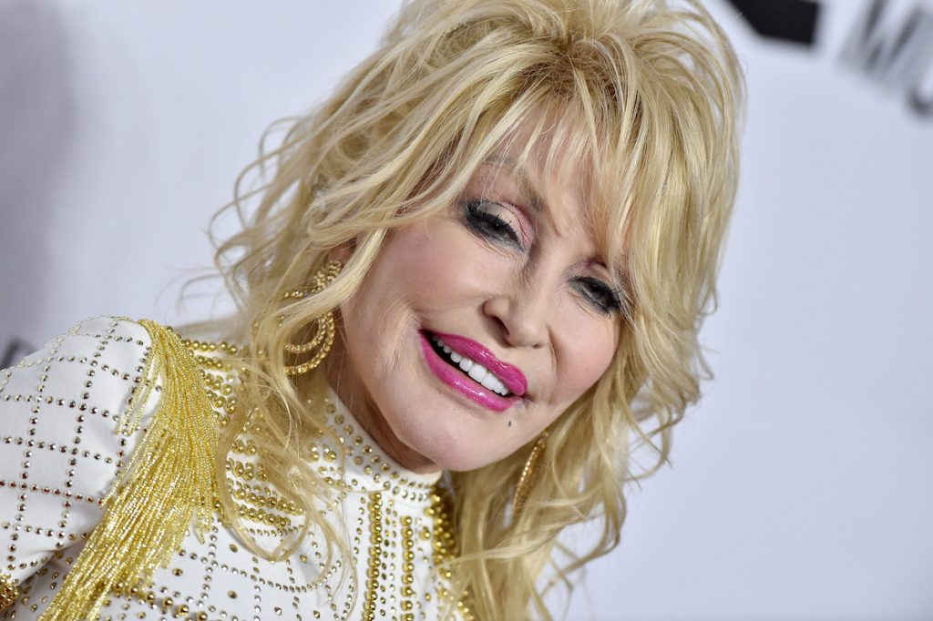 Dolly Parton attends MusiCares Person of the Year in 2019