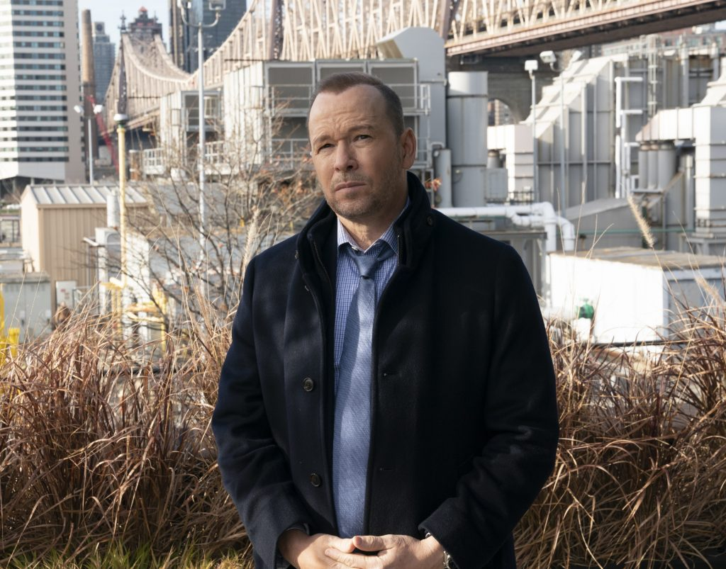 Donnie Wahlberg on Blue Bloods | Patrick Harbron/CBS via Getty Images
