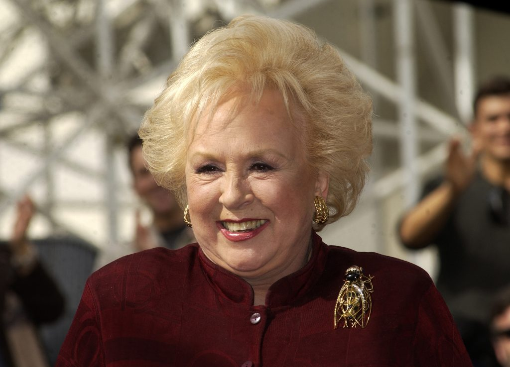 Doris Roberts of 'Everybody Loves Raymond' honored with a Star on the Hollywood Walk of Fame for her achievements in Live Theatre at The Hollywood Entertainment Museum in Hollywood