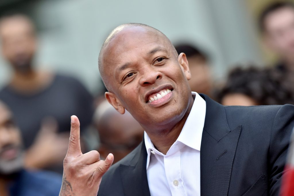 Dr. Dre at a red carpet event