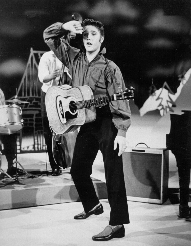 Elvis Presley's appearance on 'The Ed Sullivan' show on September 9, 1956