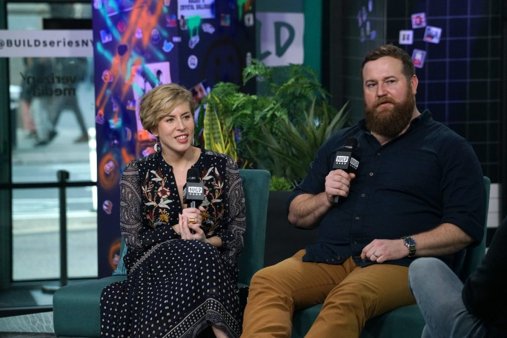 Erin and Ben Napier of HGTV's 'Home Town' in 2020
