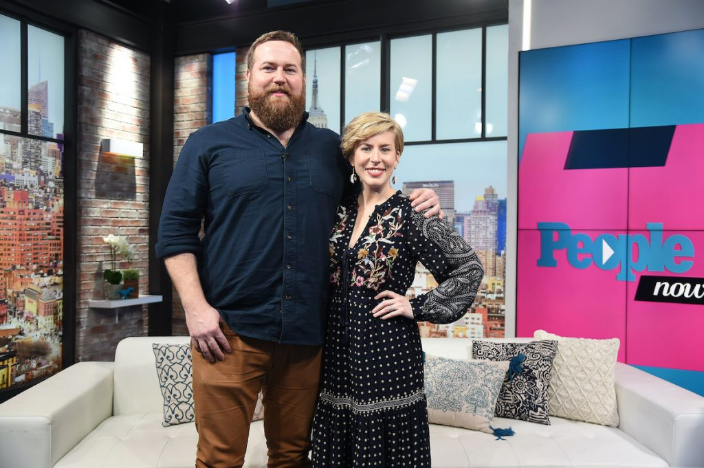 Erin and Ben Napier of HGTV's 'Home Town' in New York City in 2020