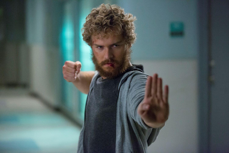 Finn Jones in 'Iron Fist'