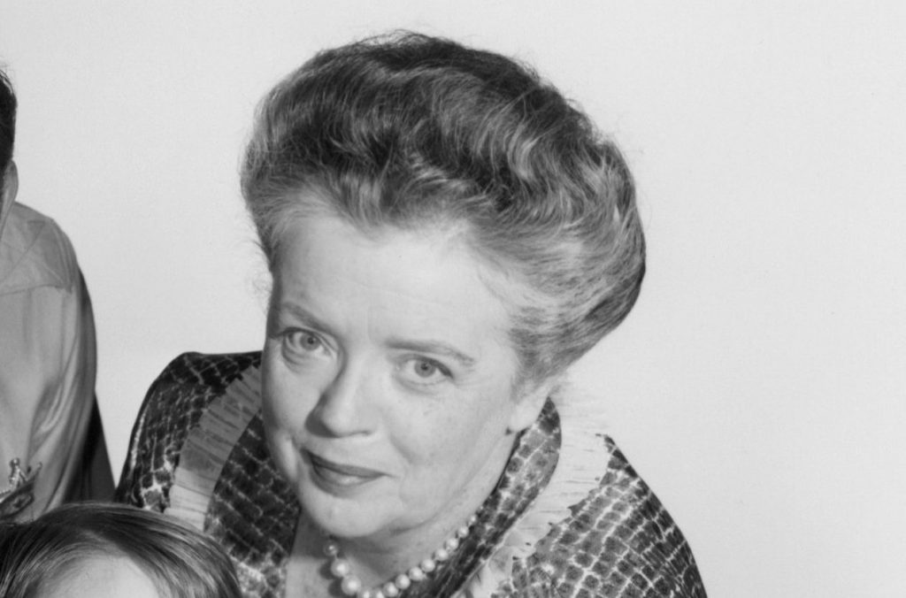 Frances Bavier as Aunt Bee Taylor on 'The Andy Griffith Show'