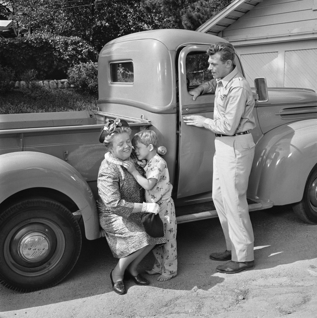 'The Andy Griffith Show' : Frances Bavier, Ron Howard, and Andy Griffith