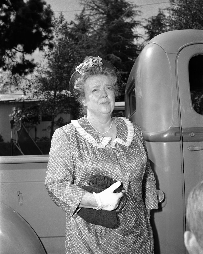 Frances Bavier of 'The Andy Griffith Show'