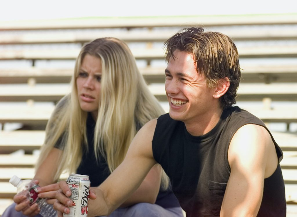 Busy Phillips and James Franco