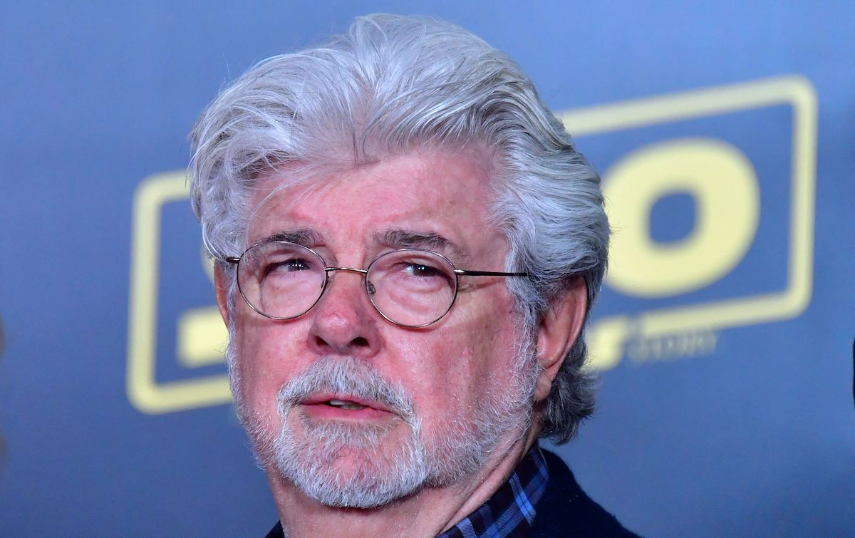 George Lucas at the 'Solo: A Star Wars Story' premiere