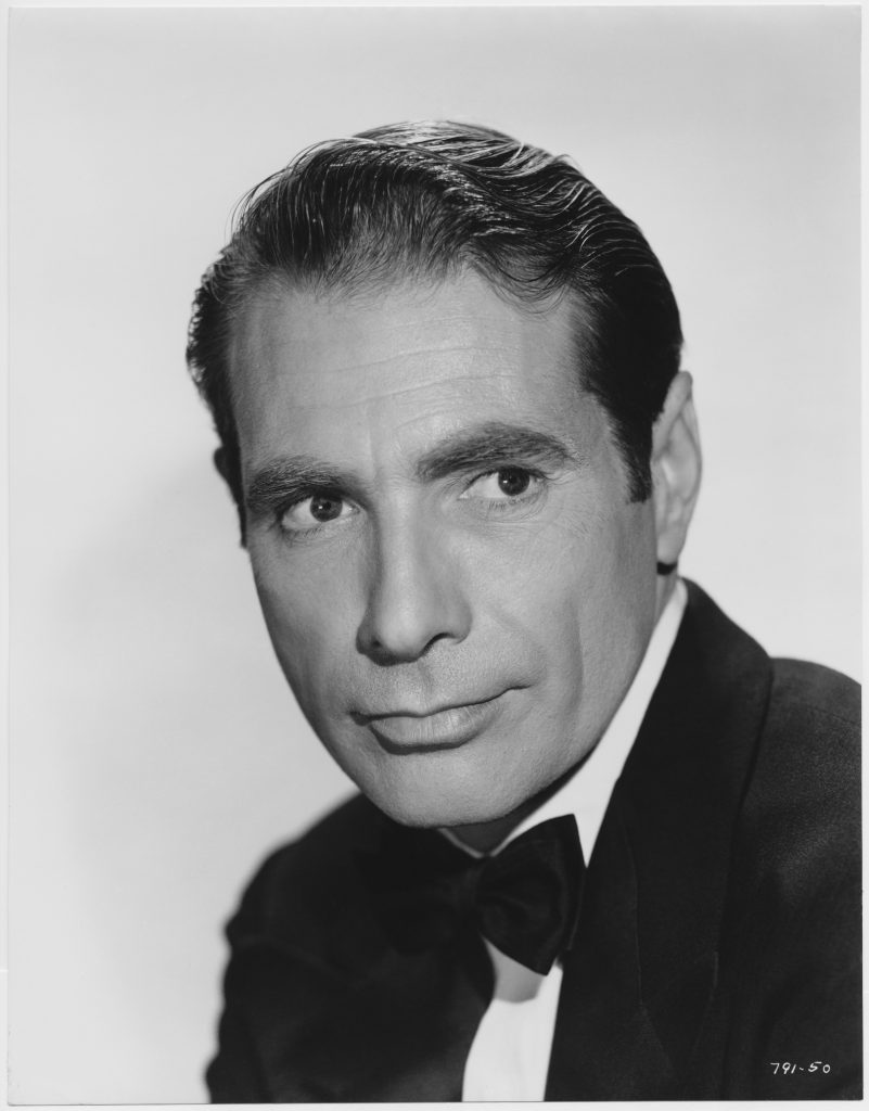A portrait of 'All About Eve' actor Gary Merrill