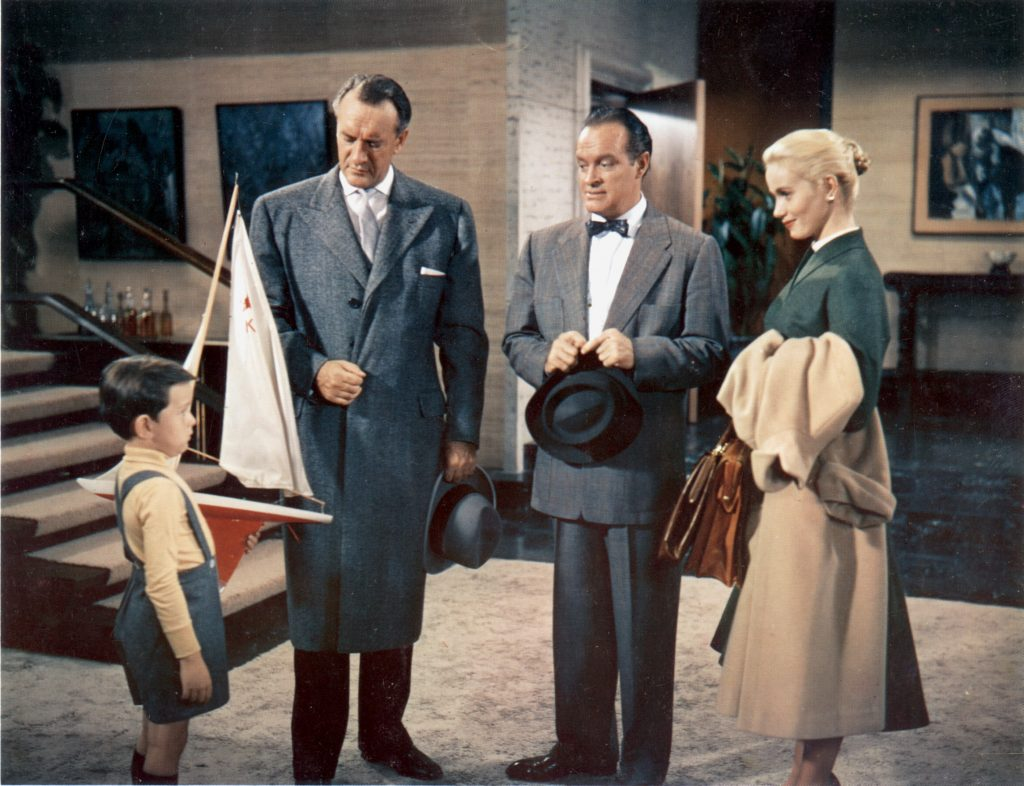 Jerry Mathers in 1956's 'That Certain Feeling,' one of the two films he starred in with Bob Hope