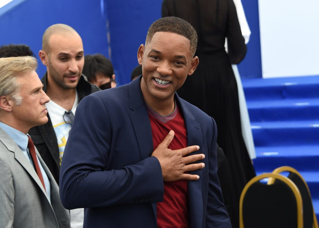 Will Smith attends the 70th Anniversary Photocall during the 70th annual Cannes Film Festival at Palais des Festivals.
