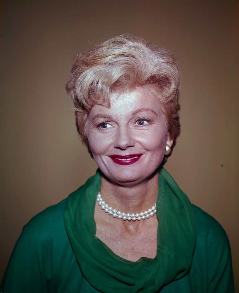 'Leave It to Beaver' actor Barbara Billingsley who portrayed June Cleaver in the series
