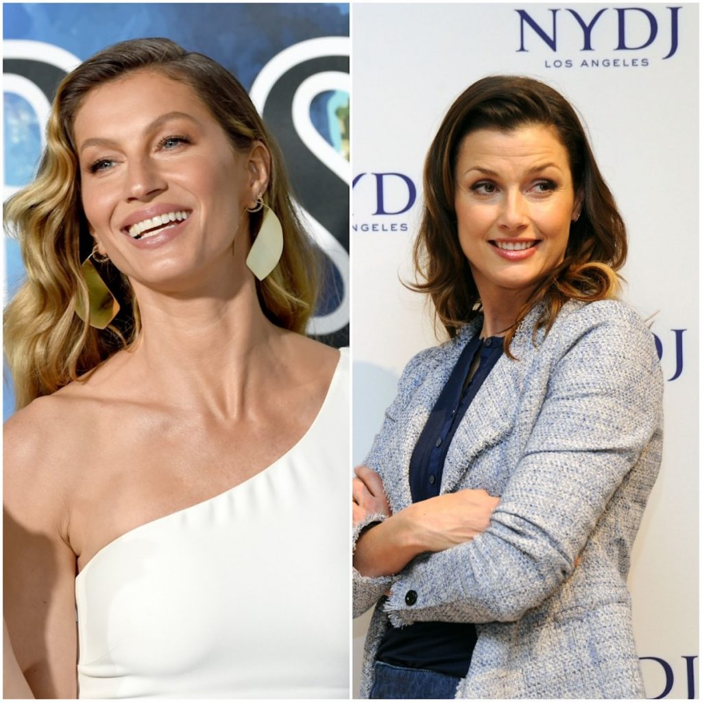 Gisele Bündchen and Bridget Moynahan