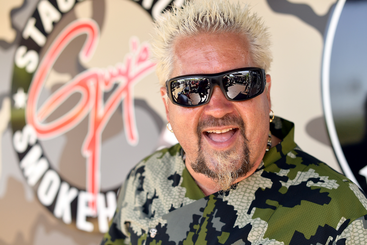 Guy Fieri at the Stagecoach Festival in 2019