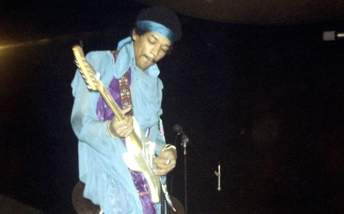 Hendrix at MSG in 1969