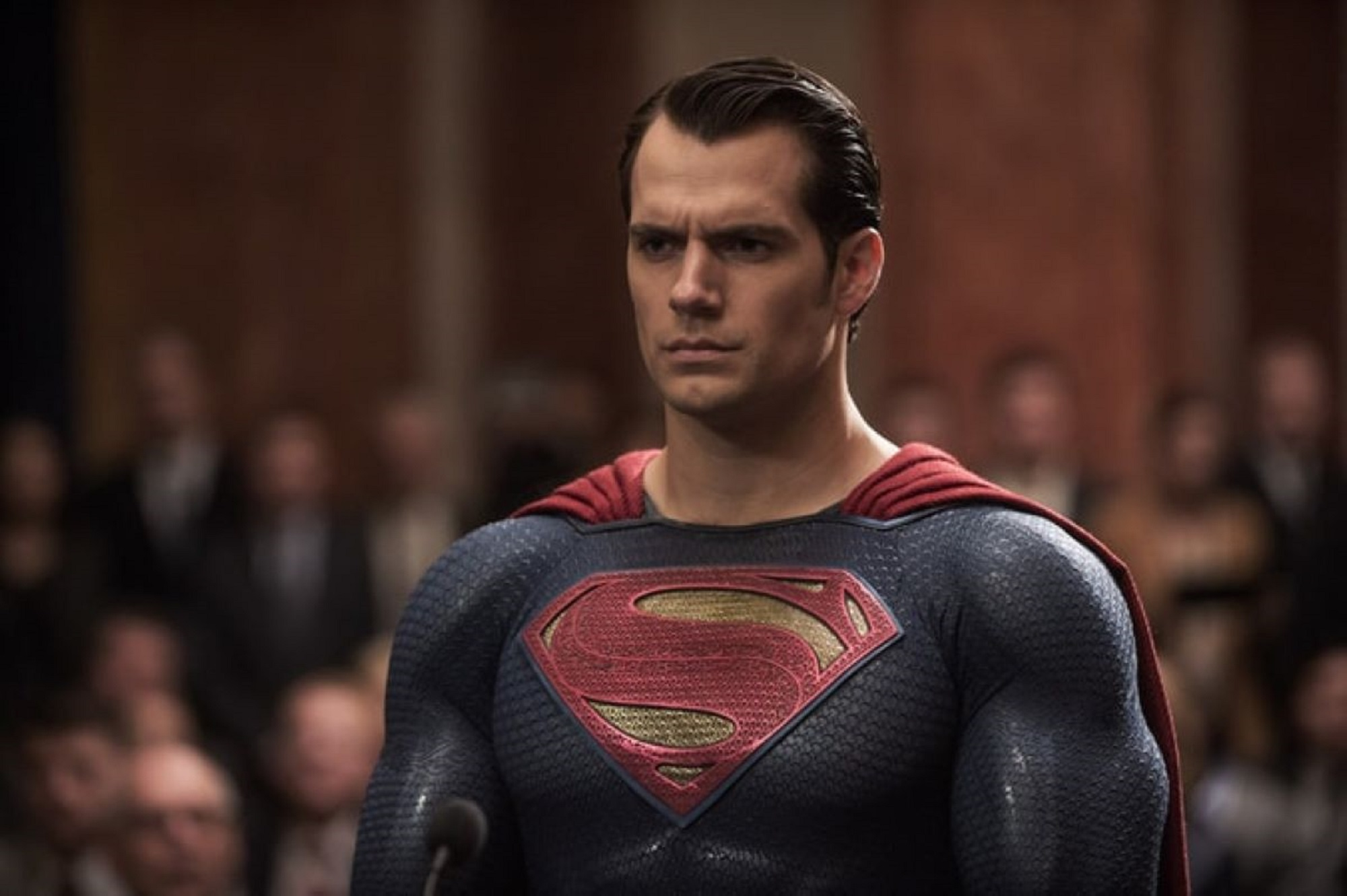 Henry Cavill in 'Batman v Superman Dawn of Justice'