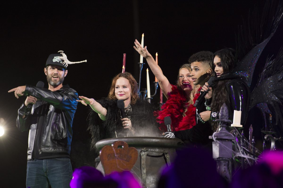 Hocus Pocus cast members at the 25th anniversary celebration