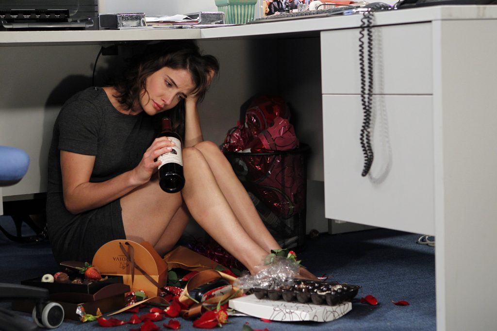 Cobie Smulders as Robin on 'How I Met Your Mother'