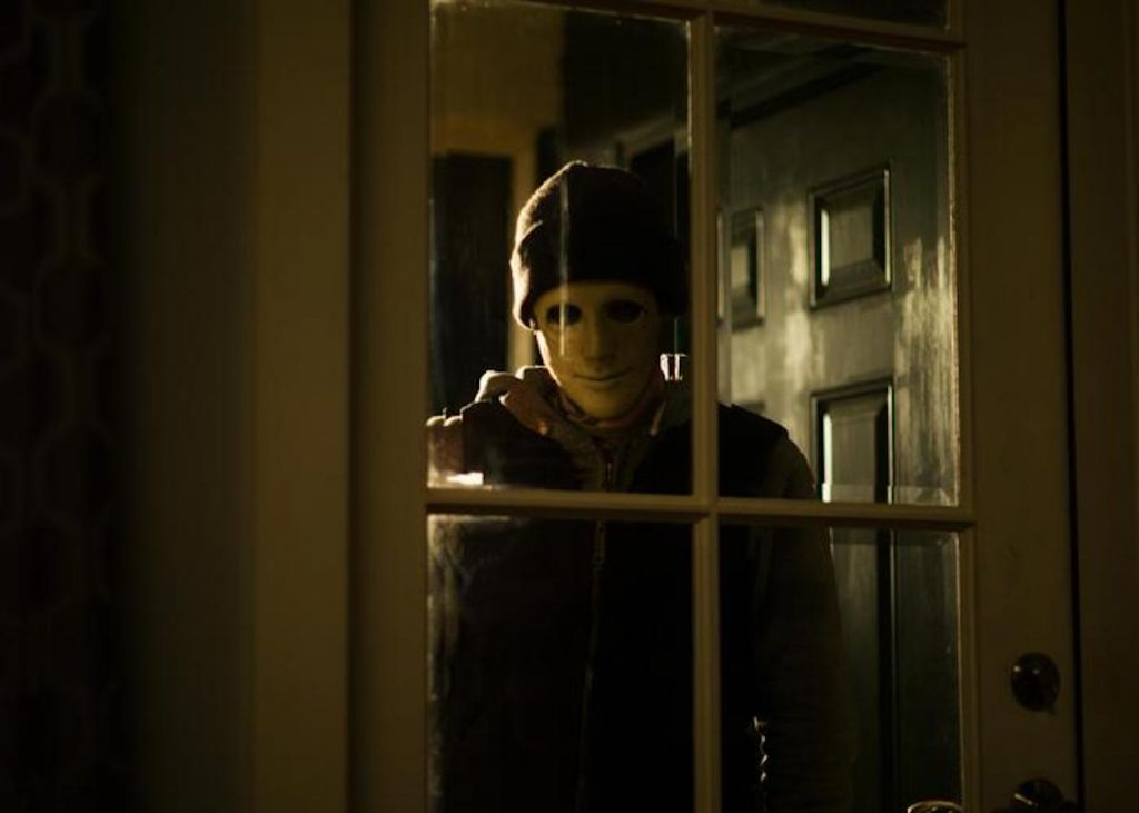 John Gallagher Jr. as the killer in 'Hush'