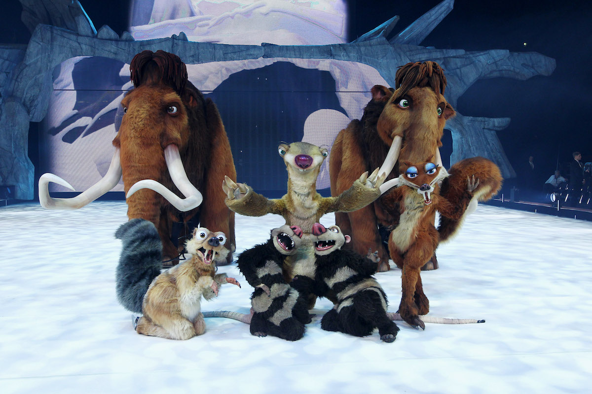The Ice Age Live! gala premiere