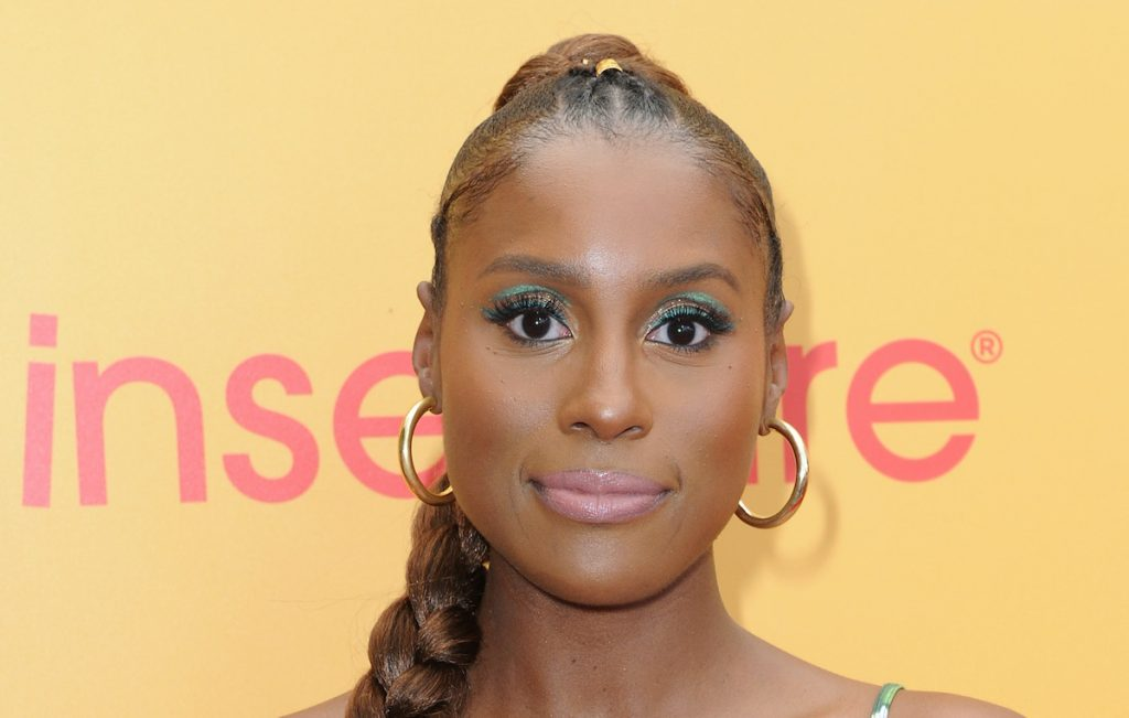 Issa Rae at a promotional event for 'Insecure'