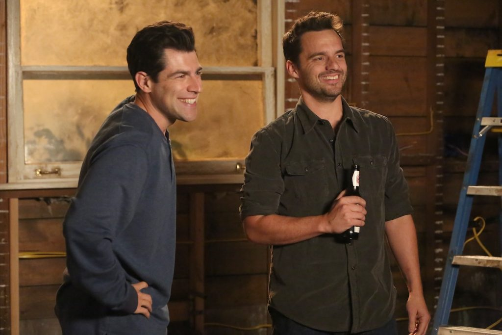 L-R: Max Greenfield and Jake Johnson in 'New Girl.'