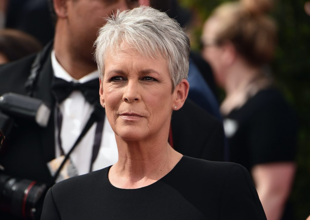 Jamie Lee Curtis attends the 67th Annual Primetime Emmy Awards