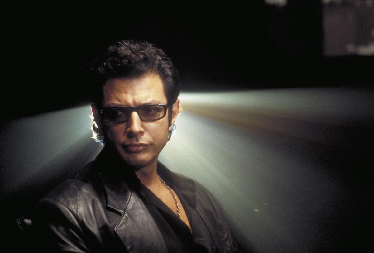Jeff Goldblum as Dr. Ian Malcolm in 1993's 'Jurassic Park'