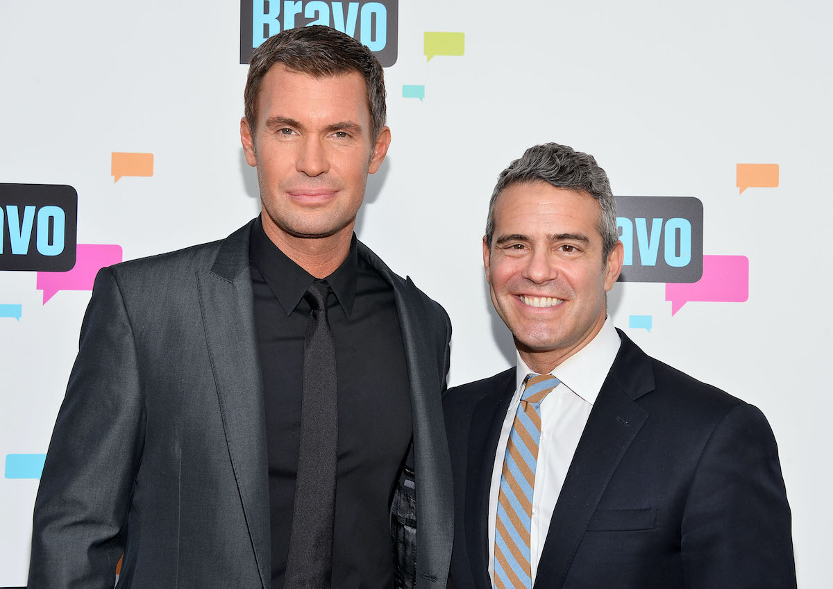 Jeff Lewis  and Andy Cohen