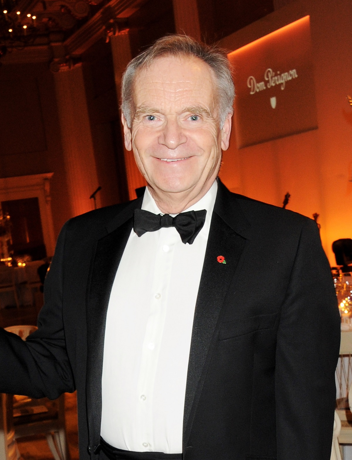 Jeffrey Archer in a suit at a Place for Peace fundraiser in 2012