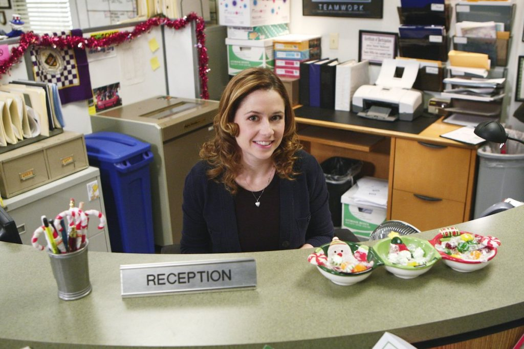 Jenna Fischer as Pam Beesly on 'The Office'