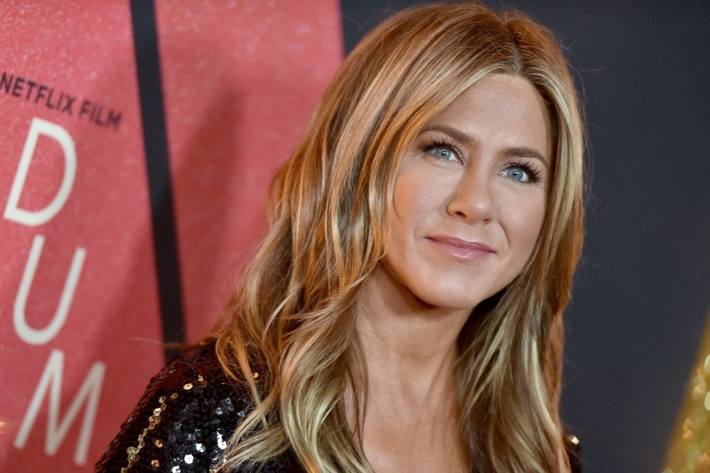 Jennifer Aniston attends the premiere of Netflix's 'Dumplin' at TCL Chinese 6 Theatres on December 6, 2018 in Hollywood, California.