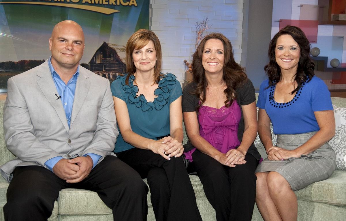 Joe, Alina, Valerie, and Vicki Darger on 'Good Morning America' in 2011