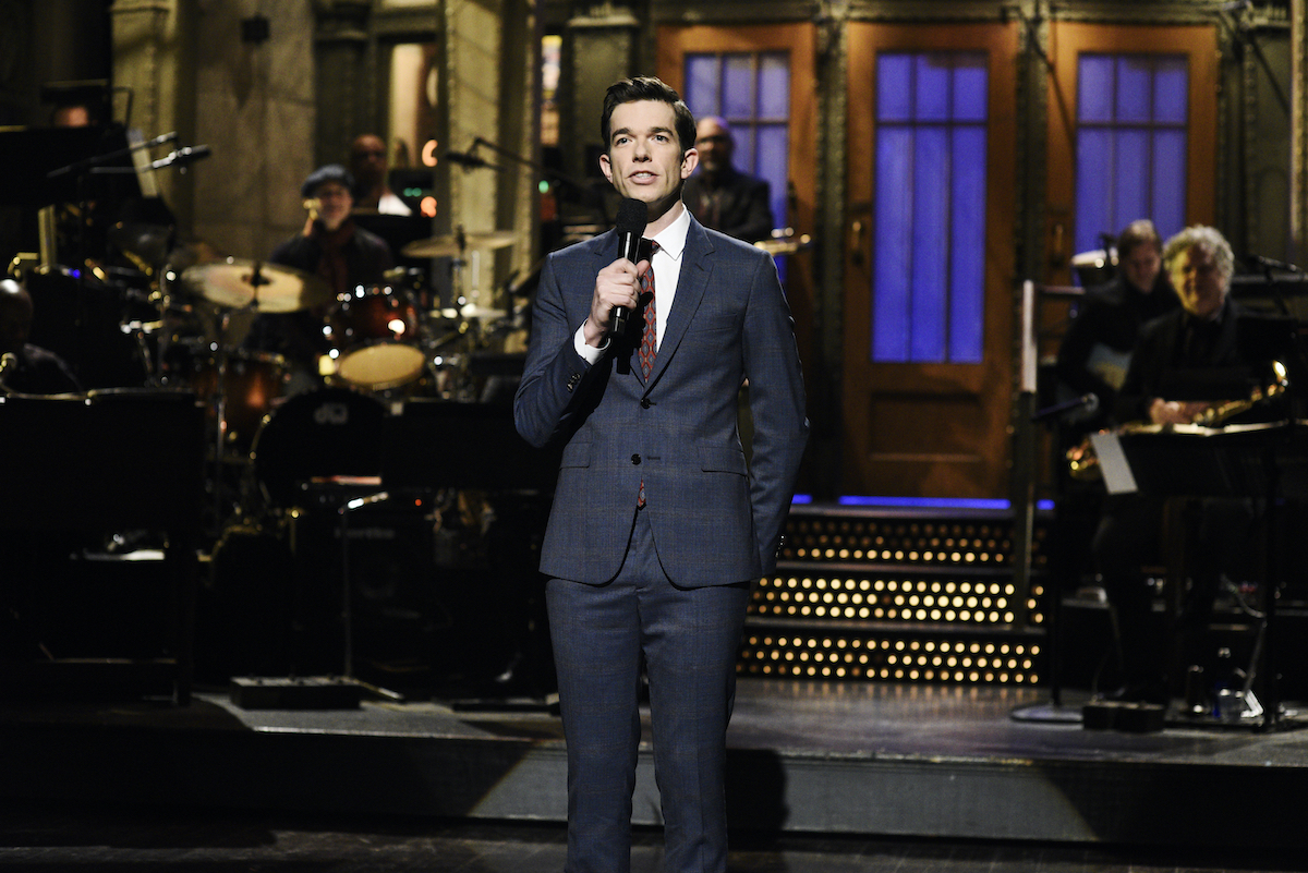 John Mulaney during the Mulaney Stand-Up Monologue on 'SNL'