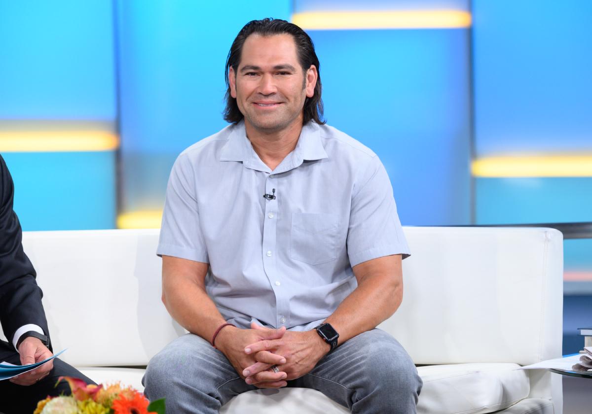 "Former MLB Player Johnny Damon visits ""FOX & Friends"" at Fox News Channel Studios on September 10, 2019 in New York City"