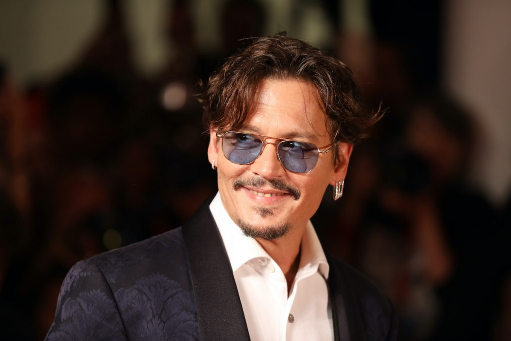 Johnny Depp at the Venice Film Festival in 2019