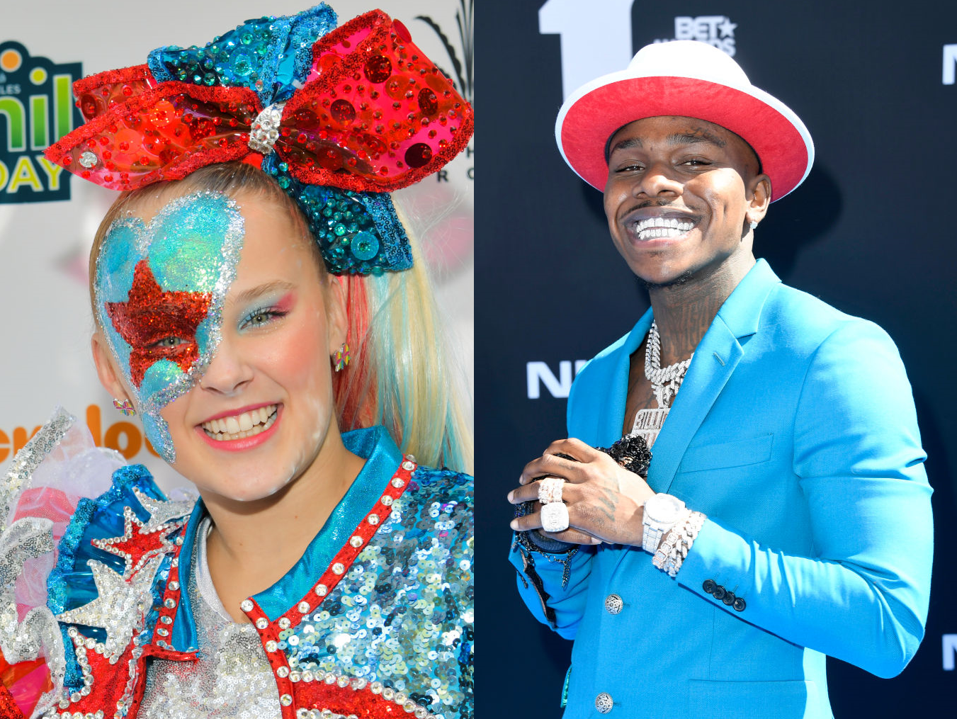 Jojo Siwa and DaBaby