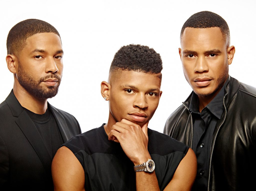 Jussie Smollett, Bryshere Gray, and Trai Byers of 'Empire'