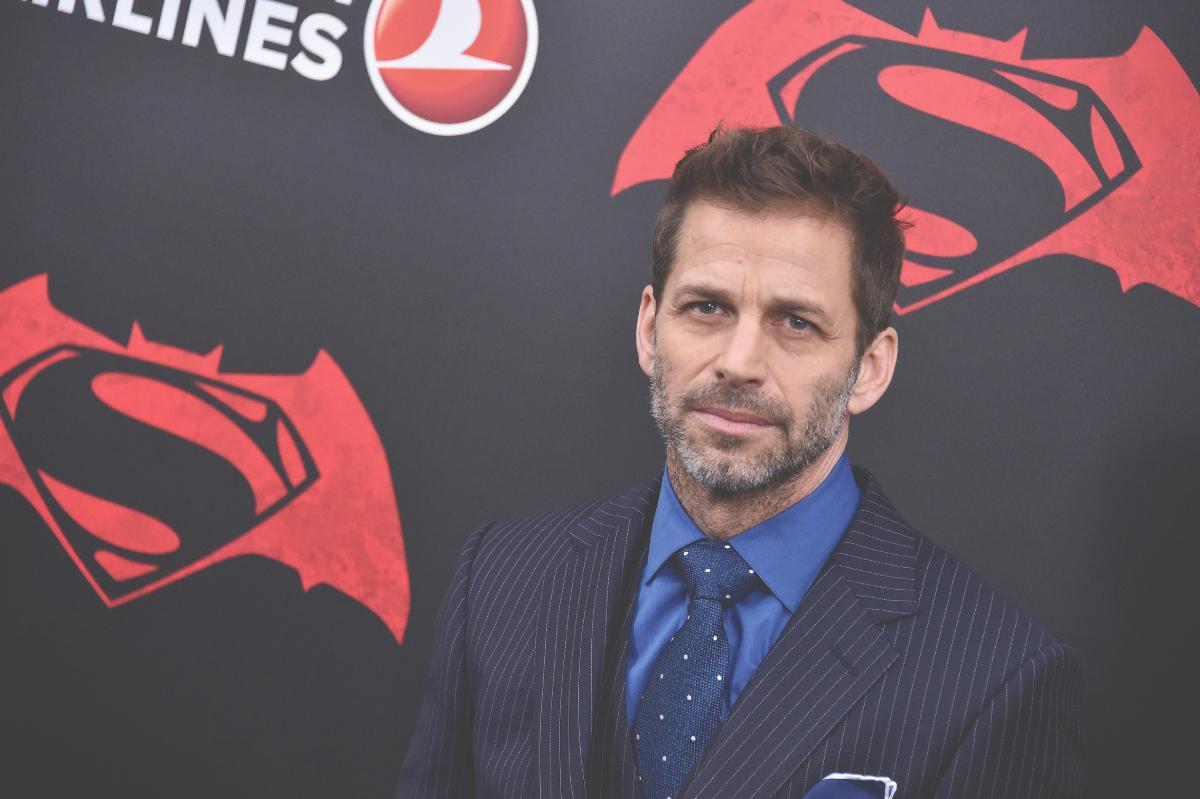 Original Justice League director Zack Snyder in 2016