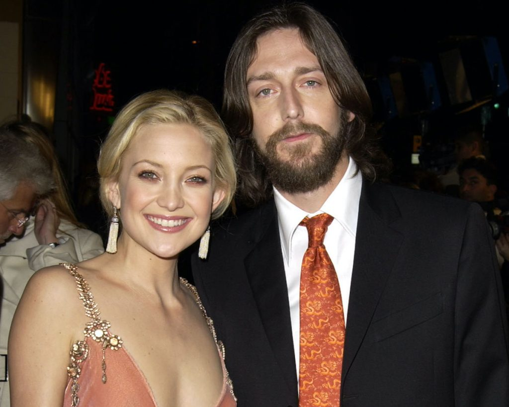 Kate Hudson and husband Chris Robinson at the 'How to Lose a Guy in 10 Days' premiere in Hollywood, California in 2003   SGranitz/WireImage
