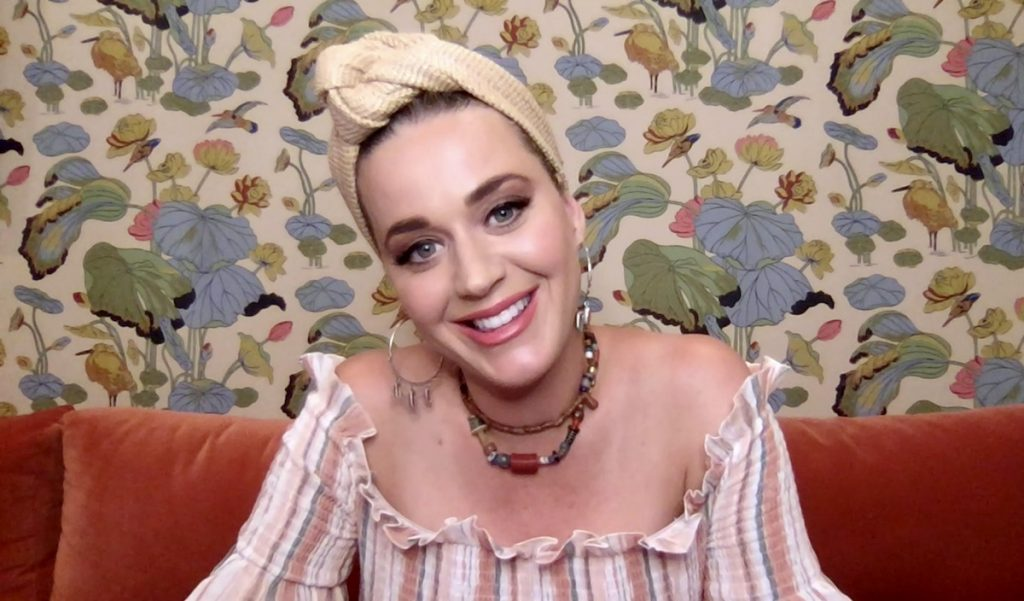 In this screengrab, pop singer Katy Perry speaks during SHEIN Together Virtual Festival to benefit the COVID-19 Solidarity Response Fund for WHO, powered by the United Nations Foundation, on May 09, 2020