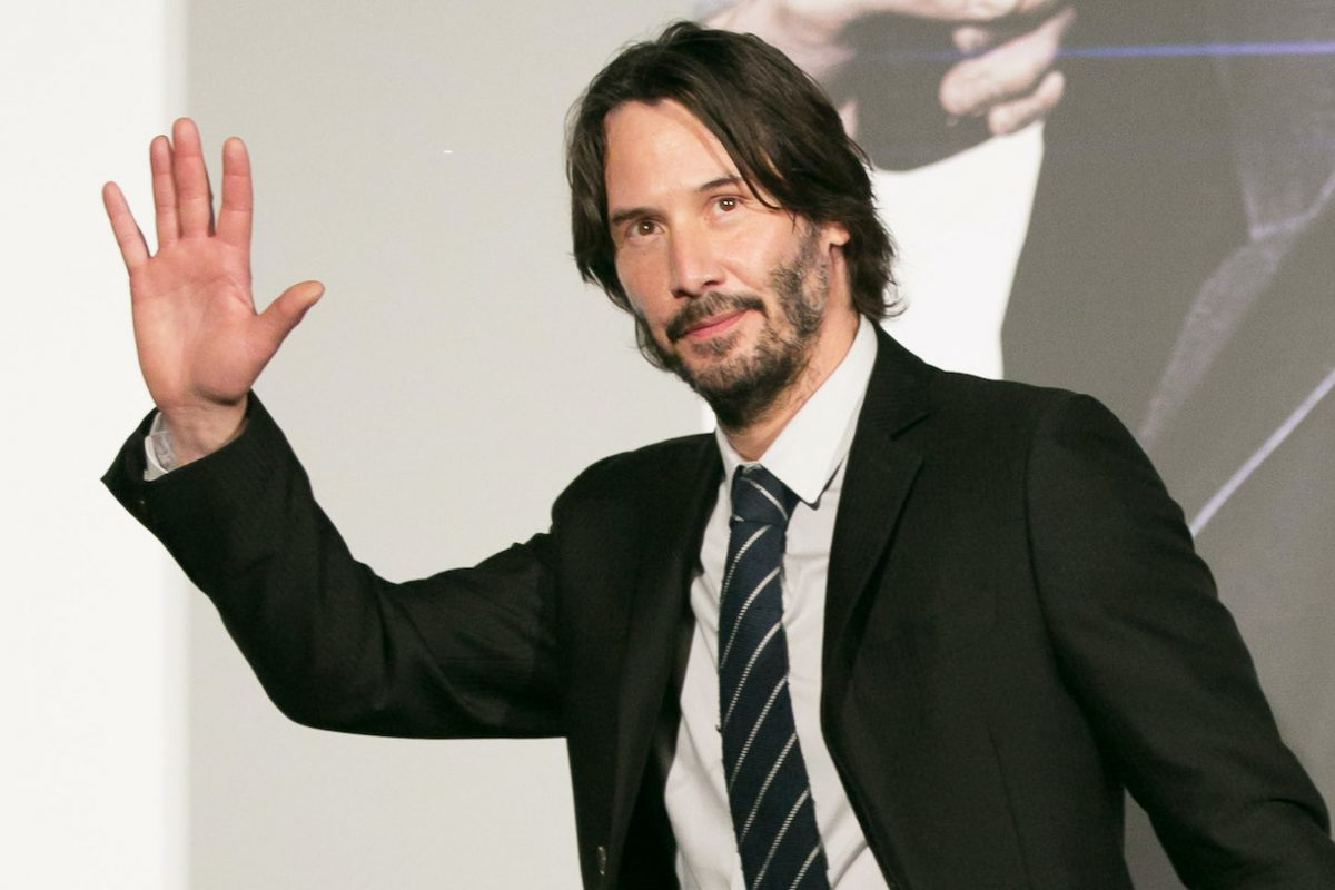 Keanu Reeves attends the Japan premiere of 'John Wick: Chapter 2' in Tokyo, Japan
