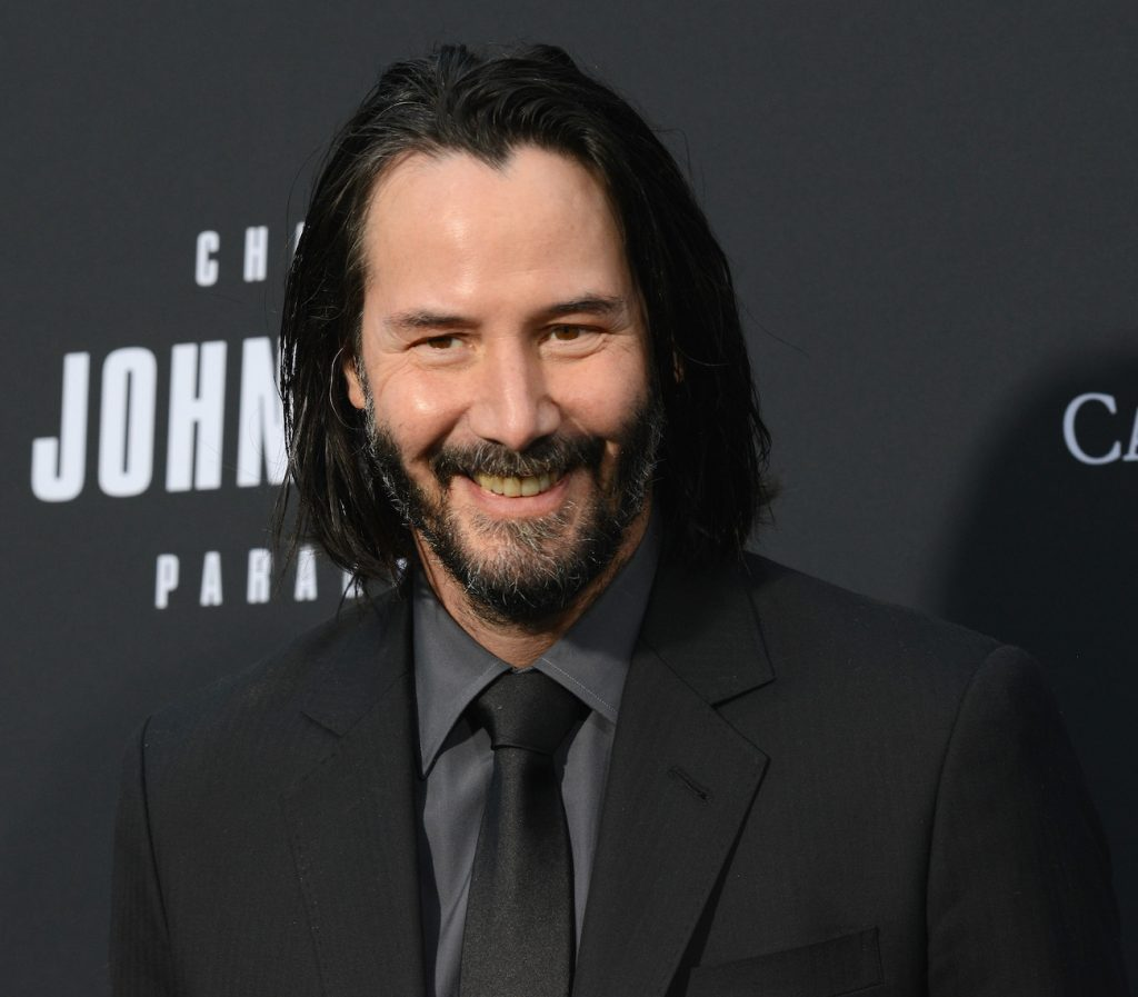 Keanu Reeves arrives for the Special Screening Of Lionsgate's 'John Wick: Chapter 3 - Parabellum' held at TCL Chinese Theatre